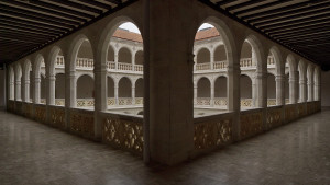 Palacio_de_Santa_Cruz_(Valladolid)._Patio