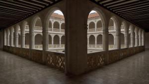 Palacio_de_Santa_Cruz_(Valladolid)._Patio