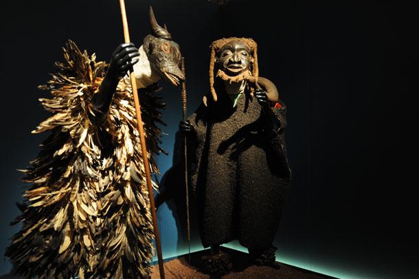 máscaras // Reino de Oku // Fundación Jiménez-Arellano Alonso