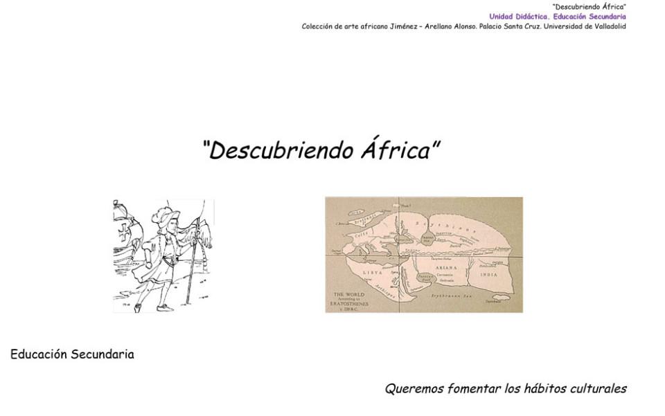 De colores africanos – Educación Primaria 4º, 5º y 6º » Fundación ...