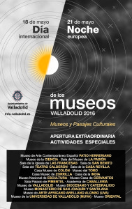2016 DÍA-NOCHE DE LOS MUSEOS.Cartel 36x57cm