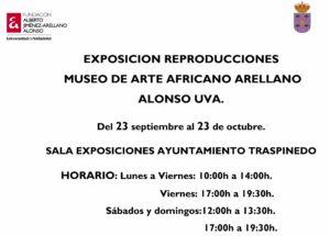 EXPOSICION REPRODUINAGURACION MUSEO DE ARTE AFRICANO ARELLANO AL